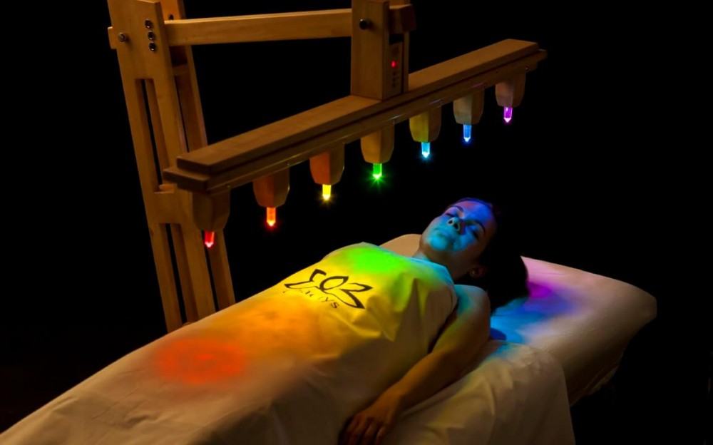 crystal healing bed