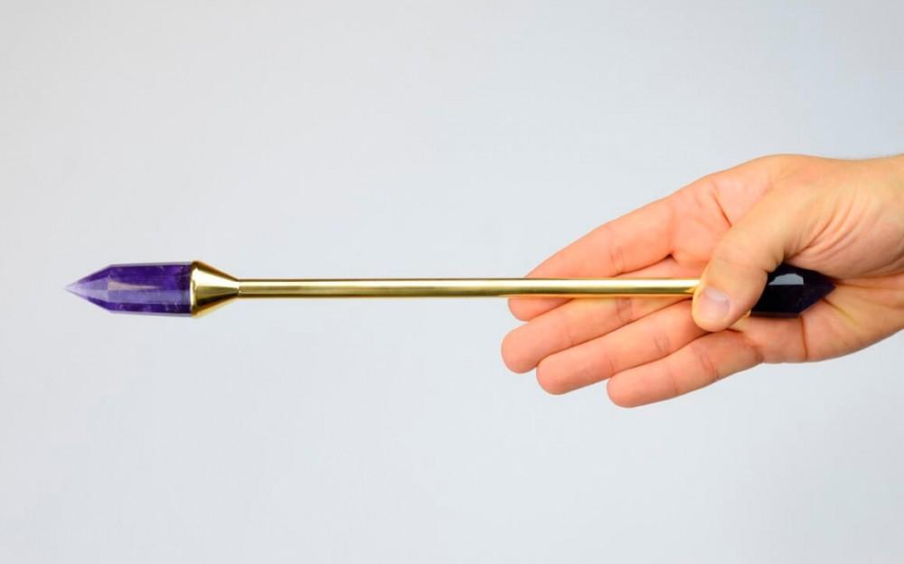 Vogel amethyst wand